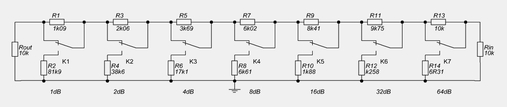схема регулятора громкости Никитина