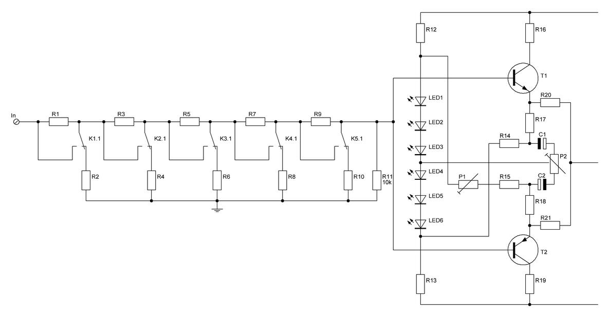 схема регулятора громкости с