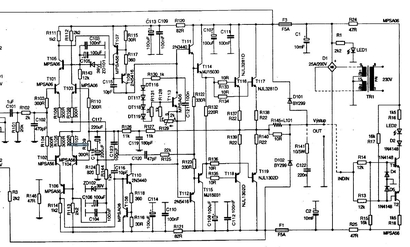 Схема усилителя мощности