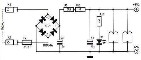 Схема блока питания лампового усилителя