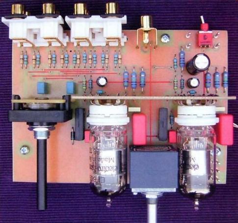 Конструкция лампового предварительного усилителя