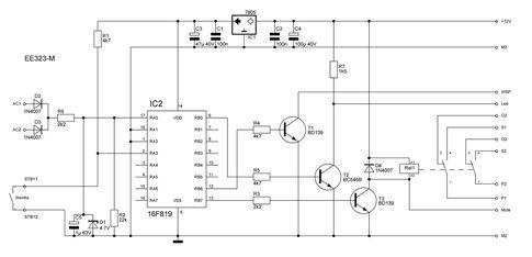 Контроллер управления ламповым усилителем