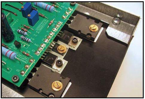 Выходные транзисторы усилителя мощности