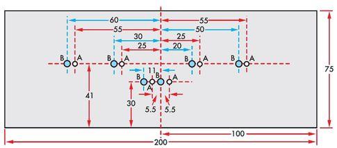 Радиатор выходных транзисторов